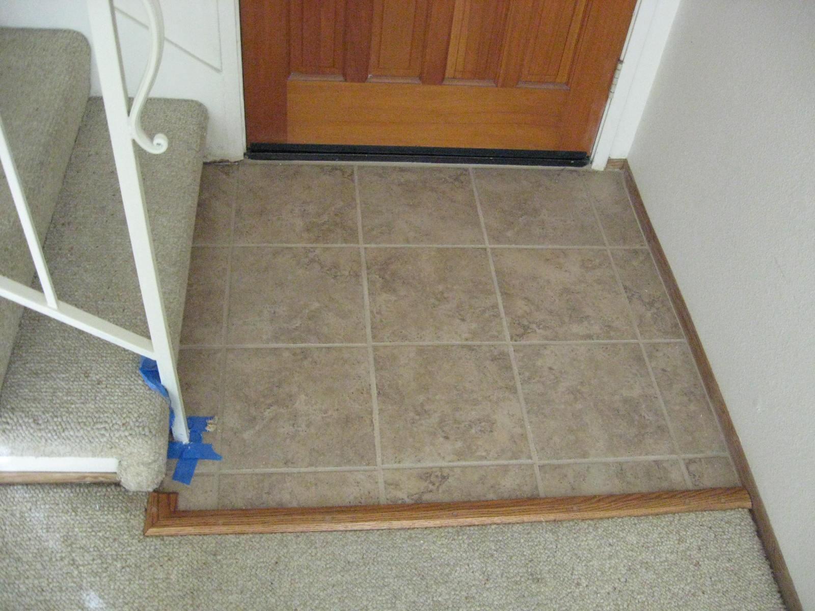 Foyer Tile Job : Ceramic tile floors ceiling remodel creative home
